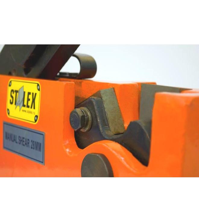Рычажные ножницы по металлу Stalex MS-20